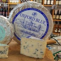 Oxford Blue Cheese,  British tasty vegetarian blue cheese